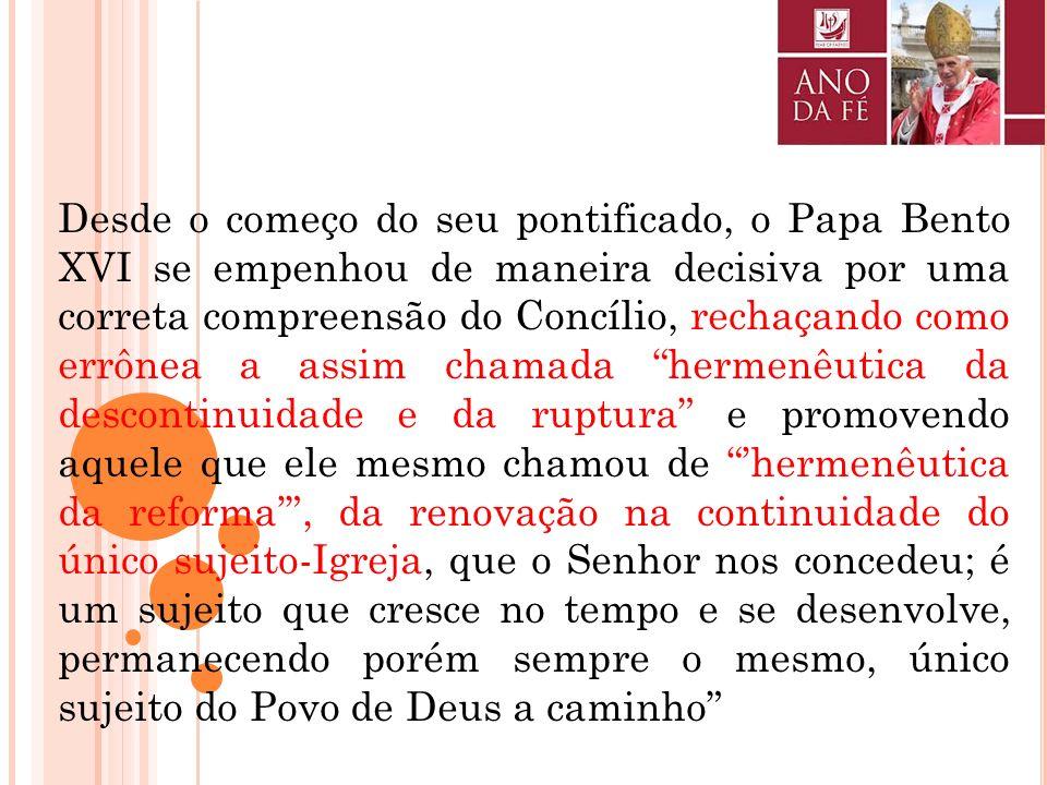 CONGREGAÇÃO PARA A DOUTRINA DA FÉ Nota com indicações pastorais para o Ano da Fé