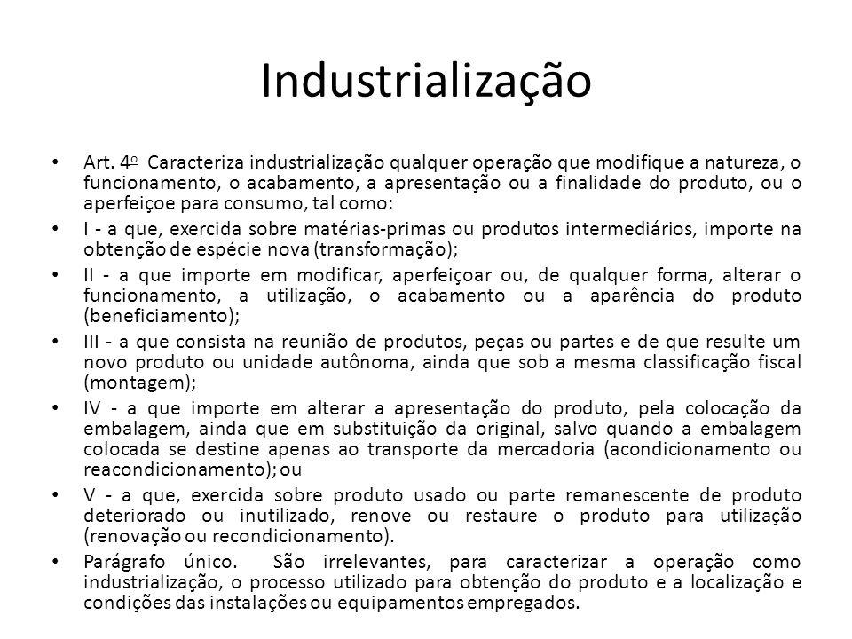 Industrialização Art.