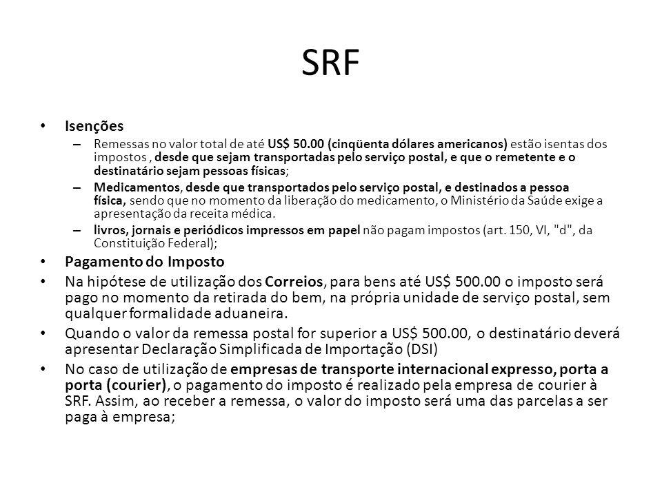 § 2 o Não constitui fato gerador do imposto o desembaraço aduaneiro de produtos nacionais que retornem ao País: I - nas hipóteses previstas nos incisos I a V do art.