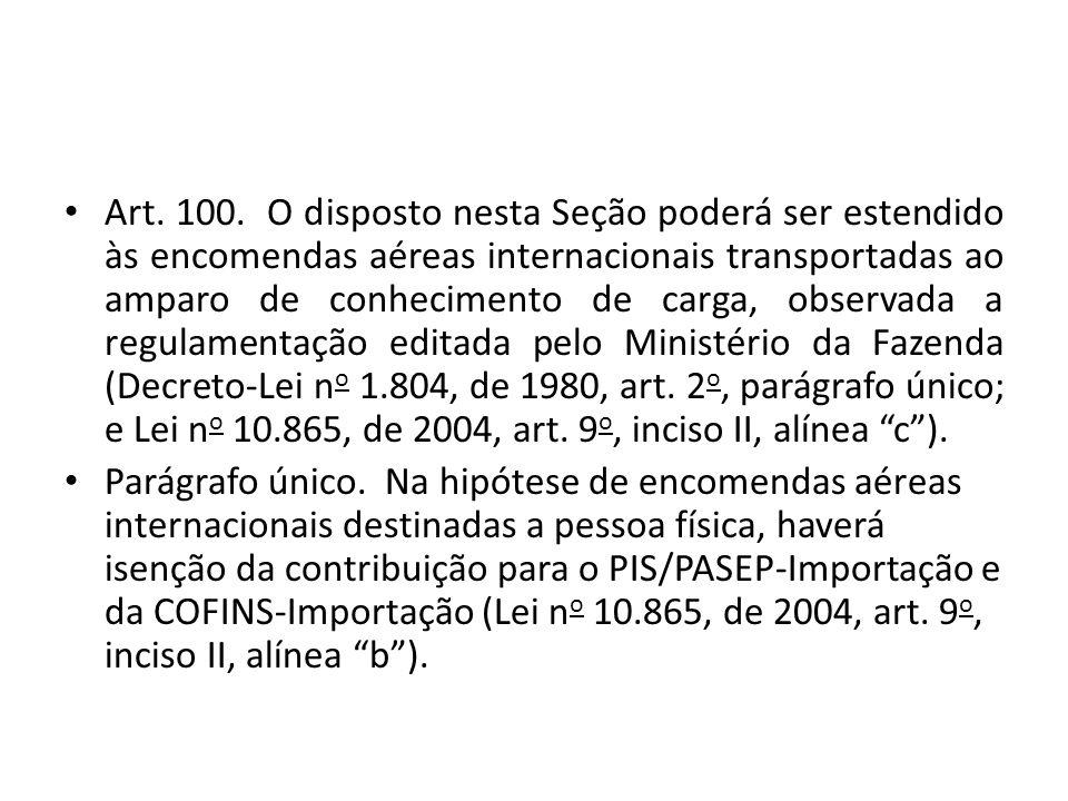Suspensão do pagamento Art.260.