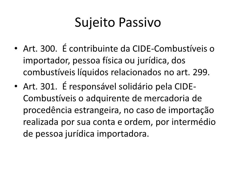 Sujeito Passivo Art.300.
