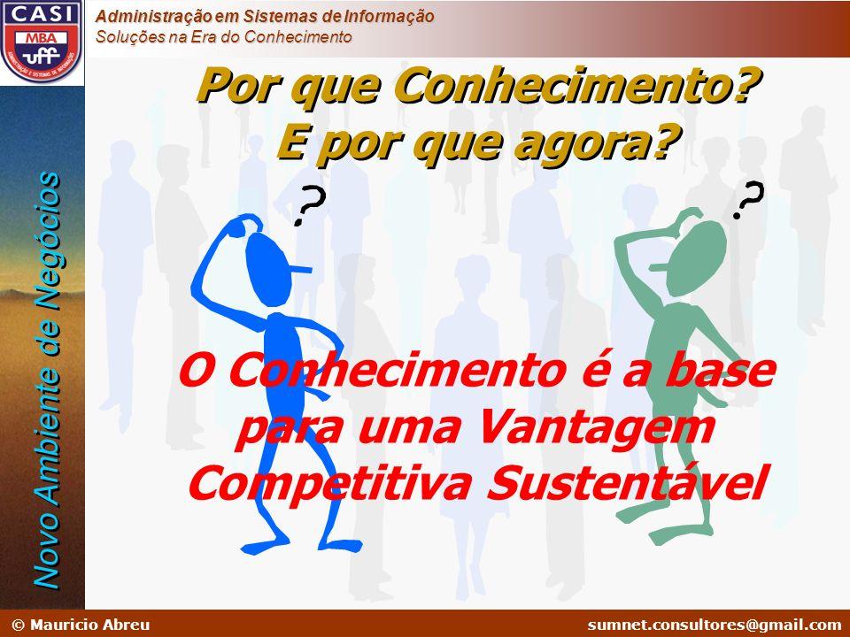 sumnet@microlink.com.br © Mauricio Abreusumnet.consultores@gmail.com Administração em Sistemas de Informação Soluções na Era do Conhecimento Por que C