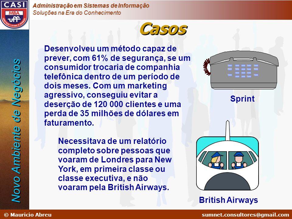 sumnet@microlink.com.br © Mauricio Abreusumnet.consultores@gmail.com Administração em Sistemas de Informação Soluções na Era do Conhecimento Desenvolv