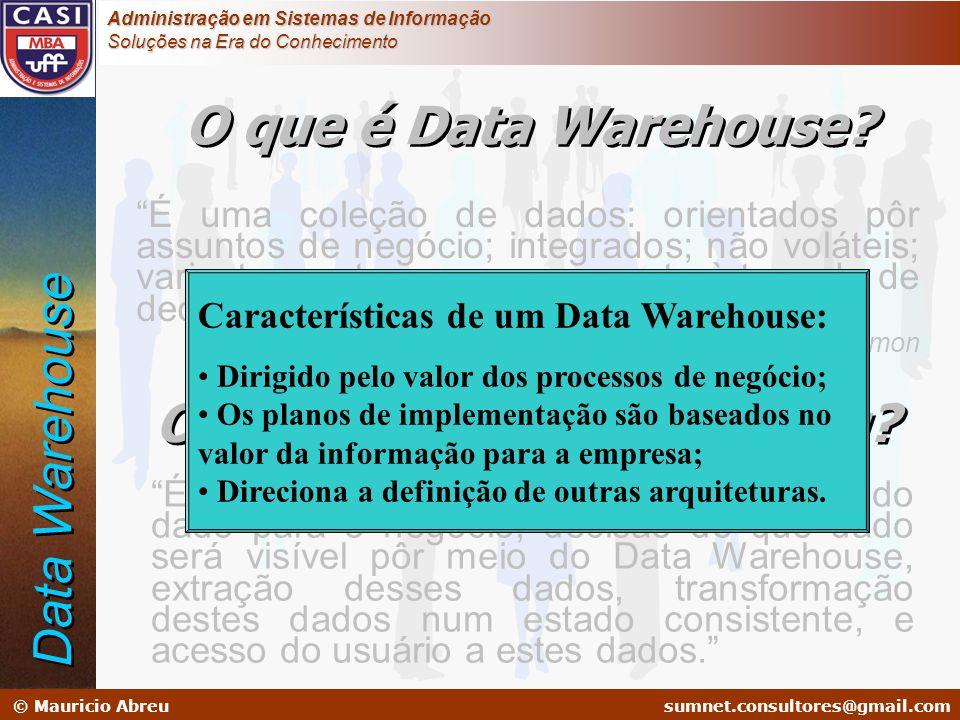 sumnet@microlink.com.br © Mauricio Abreusumnet.consultores@gmail.com Administração em Sistemas de Informação Soluções na Era do Conhecimento É uma col