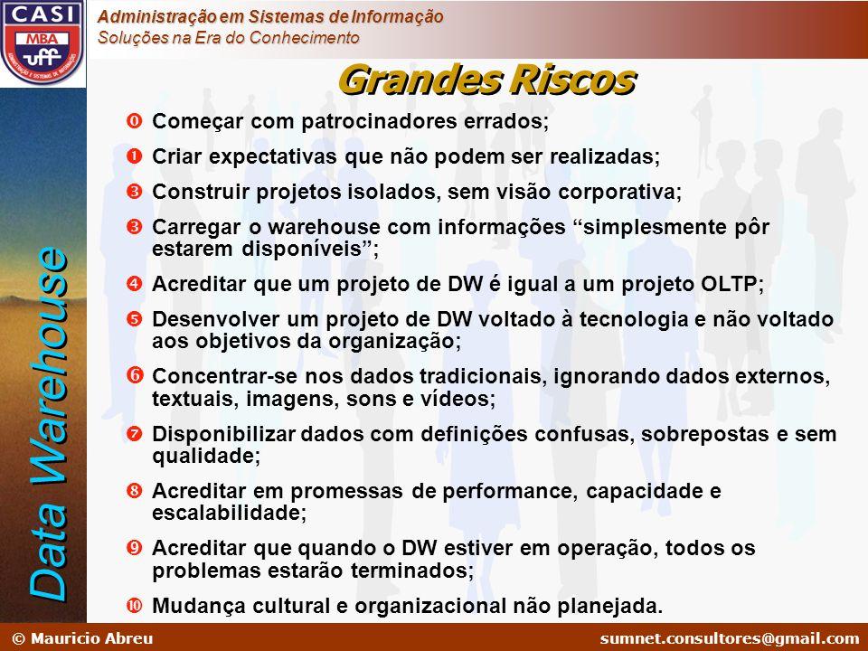 sumnet@microlink.com.br © Mauricio Abreusumnet.consultores@gmail.com Administração em Sistemas de Informação Soluções na Era do Conhecimento Começar c