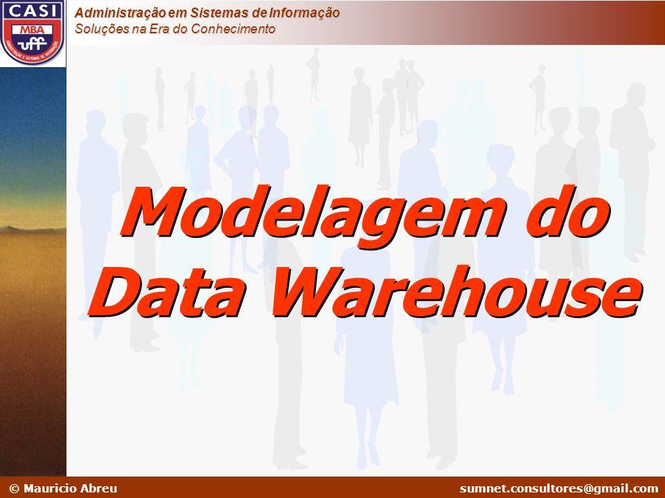 sumnet@microlink.com.br © Mauricio Abreusumnet.consultores@gmail.com Administração em Sistemas de Informação Soluções na Era do Conhecimento Modelagem