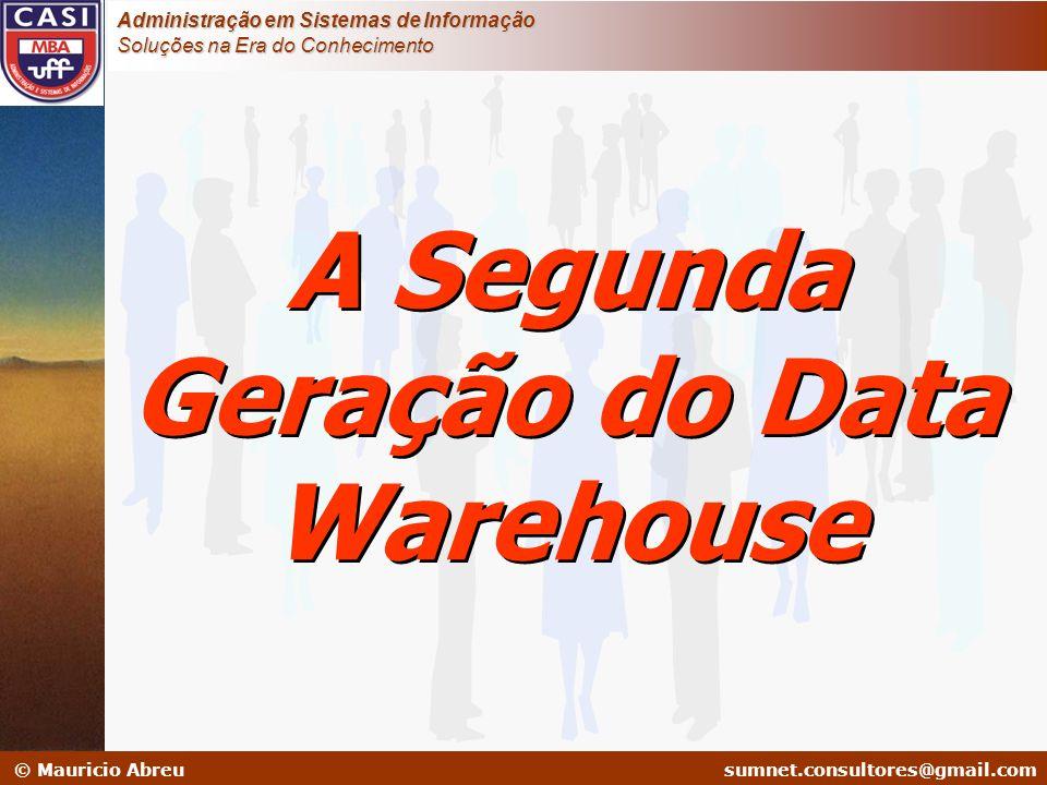 sumnet@microlink.com.br © Mauricio Abreusumnet.consultores@gmail.com Administração em Sistemas de Informação Soluções na Era do Conhecimento A Segunda