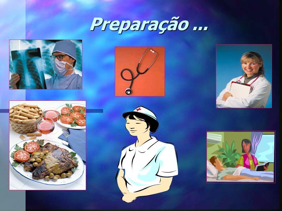 Preparação...