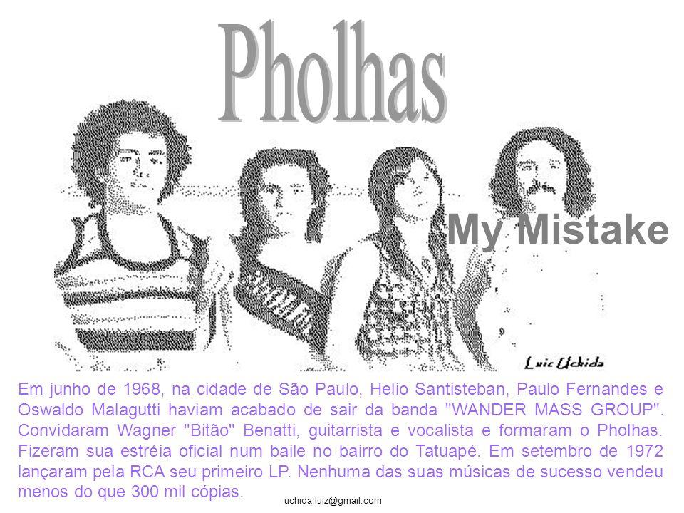 uchida.luiz@gmail.com Lançou vários discos pela gravadora Cash Box e gravou o seu último LP pela Philips, em 1979. Nos últimos anos eles dirigiram ou
