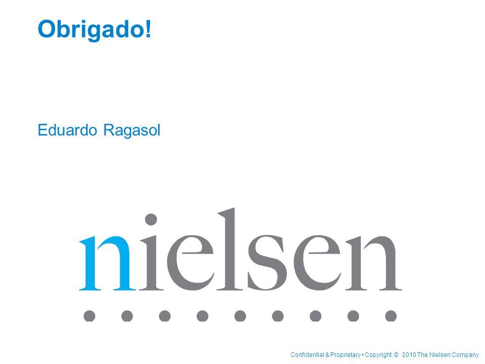 Confidential & Proprietary Copyright © 2010 The Nielsen Company Obrigado! Eduardo Ragasol