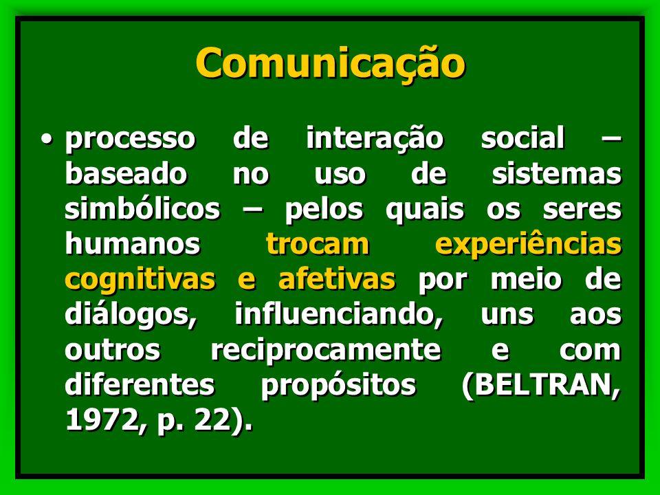 Educação e Comunicação Não há educação sem comunicação ; mas que tipo de comunicação se realiza no espaço educacional? Não há educação sem comunicação