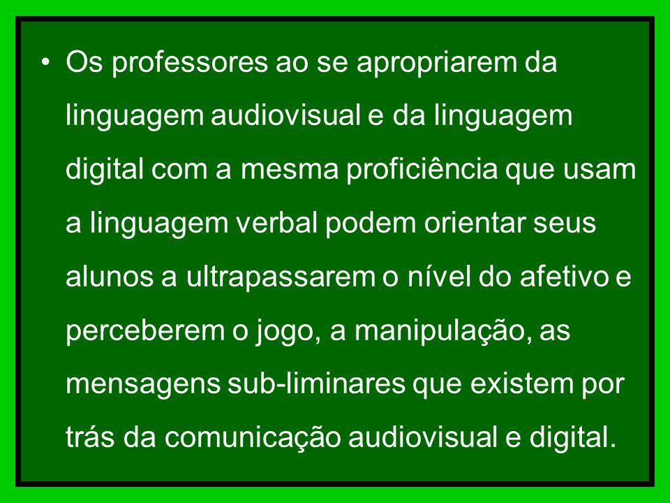 A linguagem digital incorpora a seqüencialidade da linguagem verbal ao global da linguagem audiovisual permite segmentar e recompor o texto, simulando