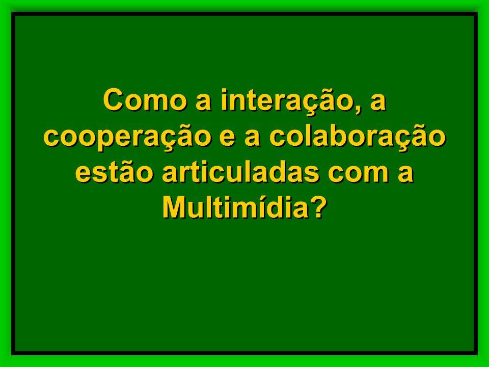 No processo de produção da aprendizagem em Multimídia Educativa professor desempenha o papel de – orientador, –referência –interlocutor – avaliador No