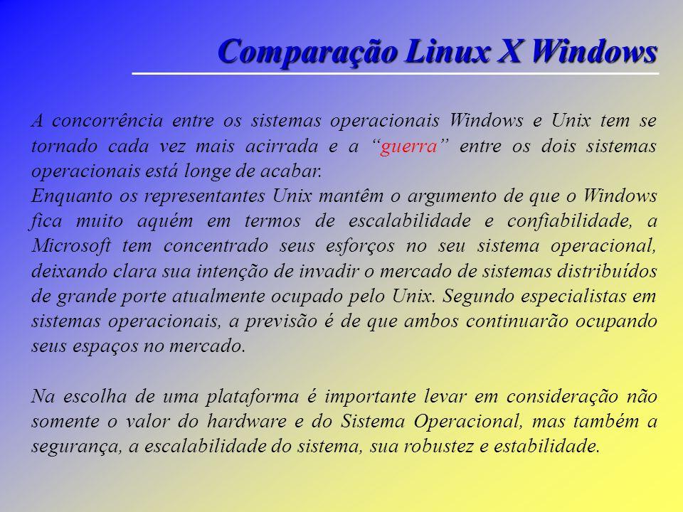 Voltar Utilitários na linha de comandos Alguns dos grandes comandos de linha do Windows: (... continuação) Shutdown: O comando shutdown permite deslig