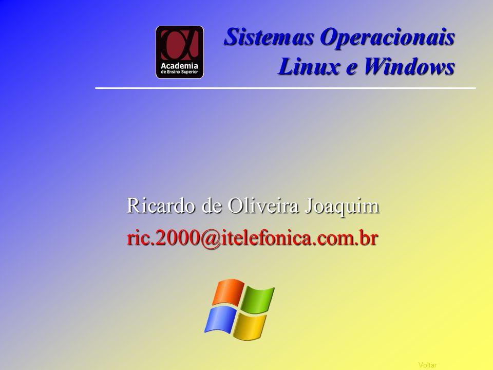 Instalação do S. O. Windows Configuração Vá em Meu Computador dentro dele será mostrados dois Discos locais, e mais alguma coisa (dependendo do seu Co