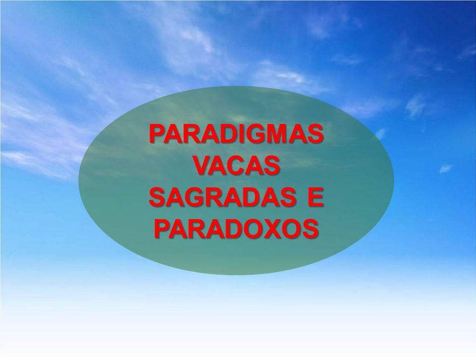 PARADIGMAS VACAS SAGRADAS E PARADOXOS