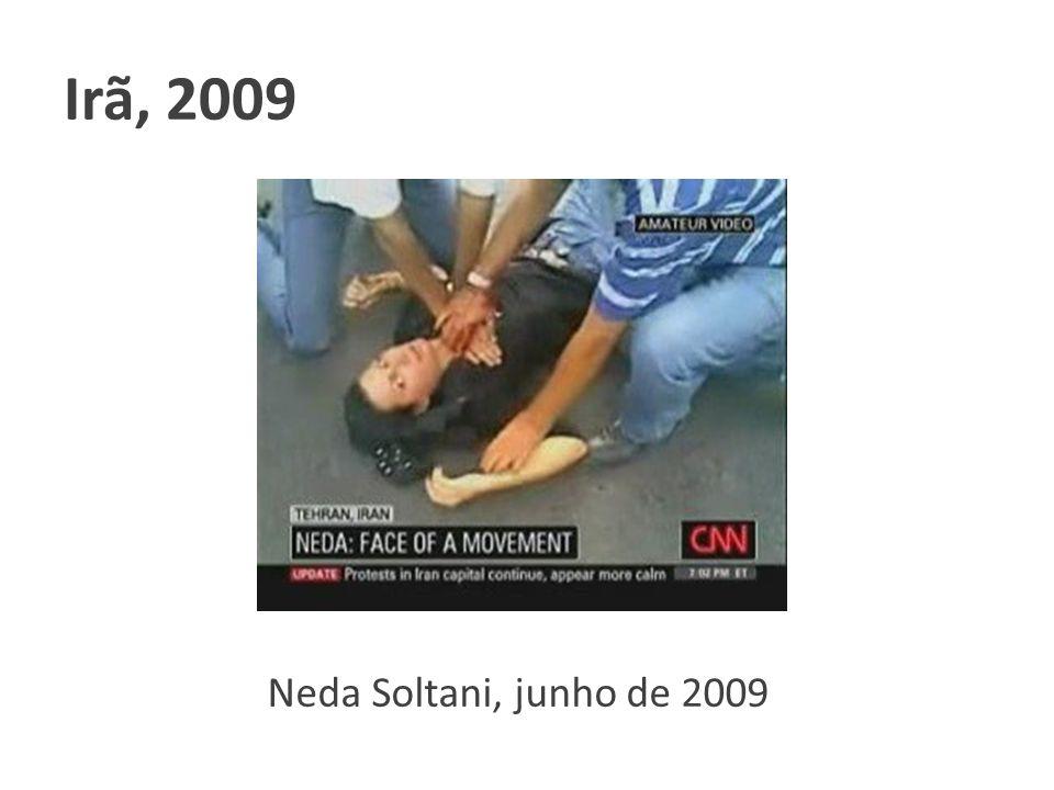 Neda Soltani, junho de 2009 Irã, 2009