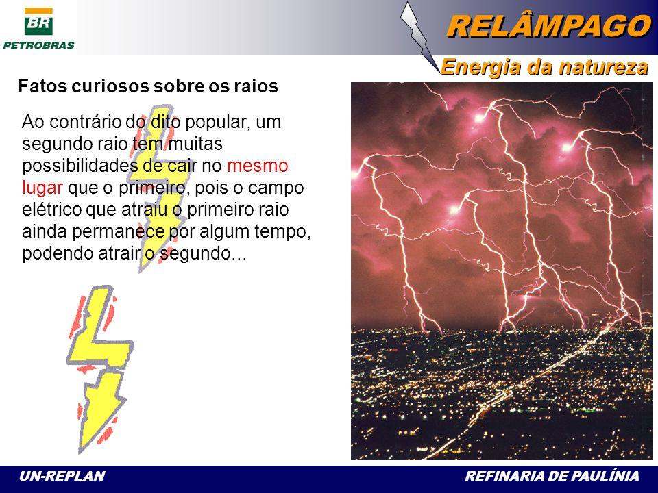 Fatos curiosos sobre os raios Os relâmpagos aparecem todos recortados no céu porque as descargas procuram os caminhos de menor resistência numa atmosfera cheia de cargas elétricas variáveis.