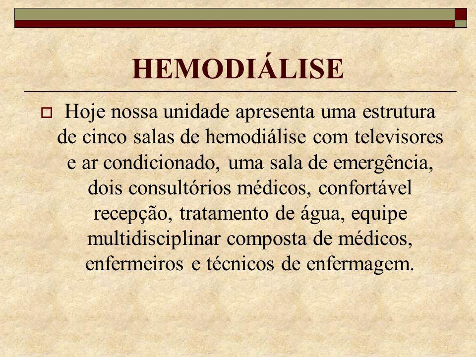 ATENDIMENTO DIFERENCIADO Fundada 12/11/1981, a Unasco é uma clínica focada no atendimento diferenciado aos pacientes portadores de Insuficiência Renal