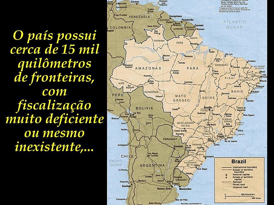 No cenário da geopolítica global, o Brasil ocupa uma posição de relevância na complexa rede internacional do narcotráfico.