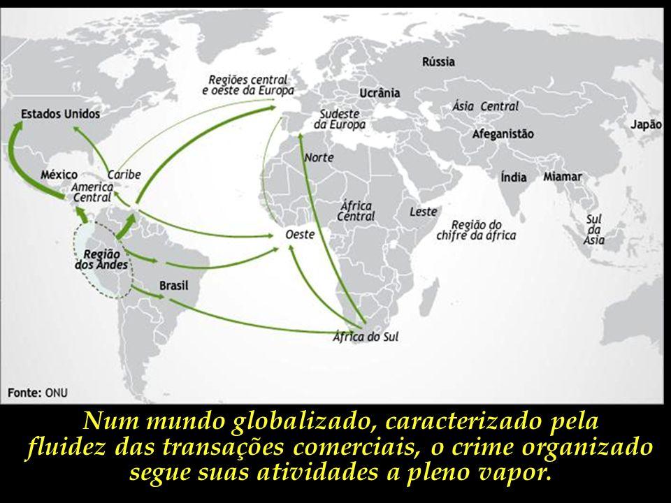 Uma crescente parcela da cocaína produzida se destina ao mercado consumidor brasileiro, que tem crescido consideravelmente nos últimos anos.