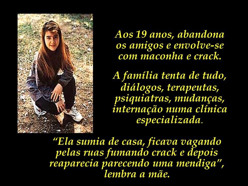 Cristiane Gaidies, conhecida pelo apelido de Maçãzinha, era uma jovem de cabelos cor de mel, olhos expressivos e sorriso claro. Filha de uma psicóloga