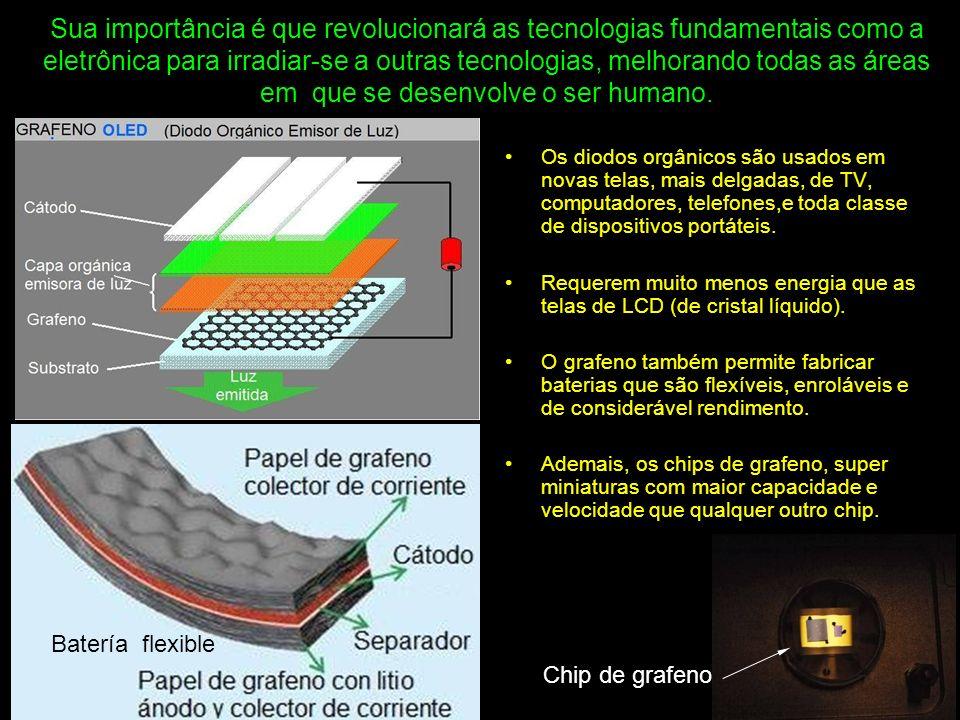 Se obteve dispositivos de grafeno que podem processar dados 10 vezes mais rápido, finos como um cabelo, flexíveis como o plástico e duros como o diamante.