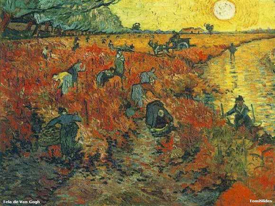 Tela de Van Gogh TomiSlides SONHE COM ESTRELAS FERNANDO PESSOA