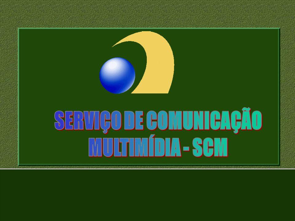 3Mensagem Inicial; 3Serviços de telecomunicações: no Passado; 3Serviços de telecomunicações: novo cenário; 3Serviço de Comunicação Multimídia; 3Definições; 3Características; 3Redes do SCM; 3Autorizações; 3Do uso da RF; 3Da Instalação e Licenciamento do Sistema 3Transferências; 3Coordenação de RF; 3Prestação do Serviço; 3Sanções Administrativas; 3Tráfego telefônico entre o SCM e o STFC; 3Conversão de Autorizações; 3Resolução 272/2001 Serviço de comunicação Multimídia - SCM Sumário