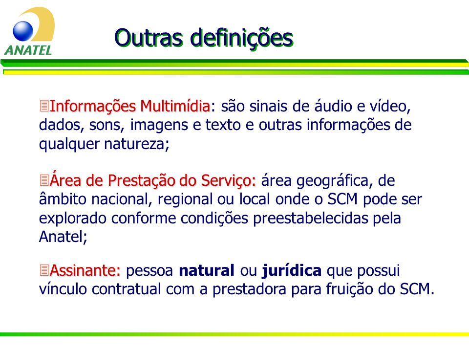 3Informações Multimídia 3Informações Multimídia: são sinais de áudio e vídeo, dados, sons, imagens e texto e outras informações de qualquer natureza;