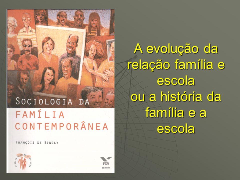 A evolução da relação família e escola ou a história da família e a escola
