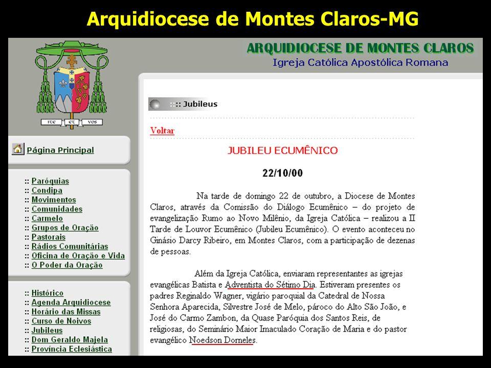 Arquidiocese de Montes Claros-MG