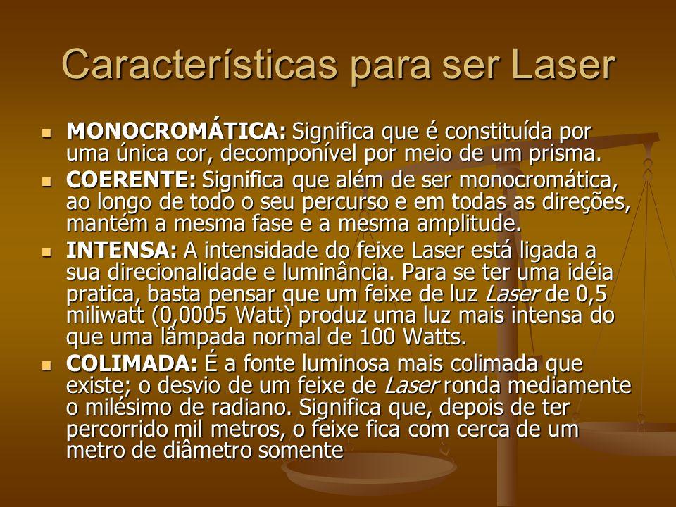 Tipos de energia luminosa Laser Laser LED LED LIP LIP