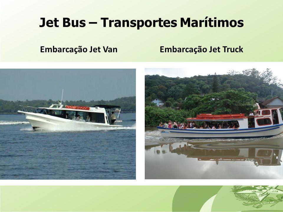 Jet Bus – Transportes Marítimos Embarcação Jet Van Embarcação Jet Truck