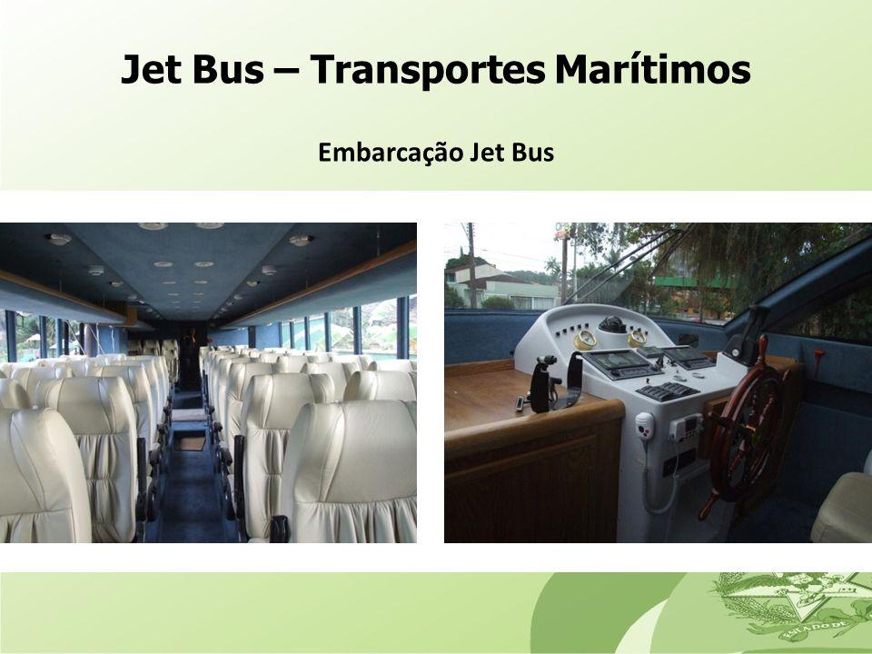 Jet Bus – Transportes Marítimos Embarcação Jet Bus