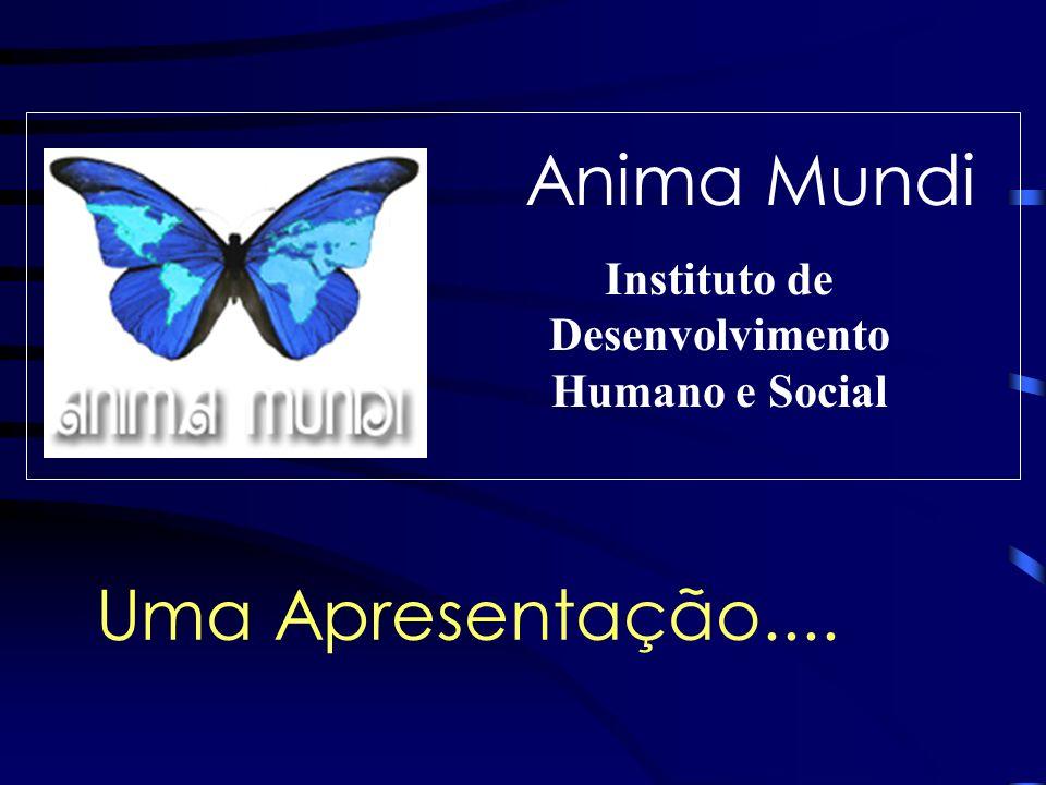 Anima Mundi Instituto de Desenvolvimento Humano e Social Uma Apresentação....