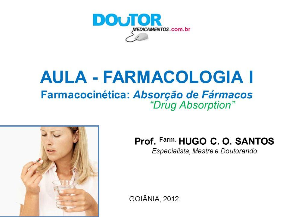 Prof.Farm. HUGO C. O.
