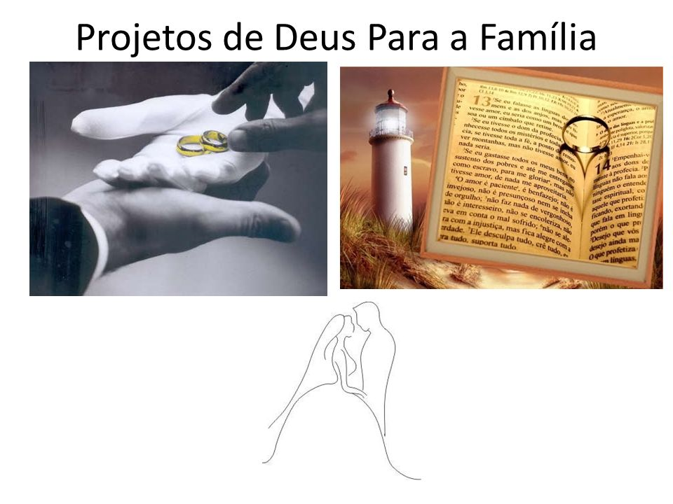 Projetos de Deus Para a Família