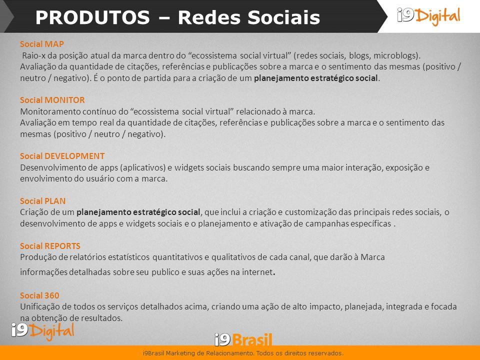 SERVIÇOS – Redes Sociais
