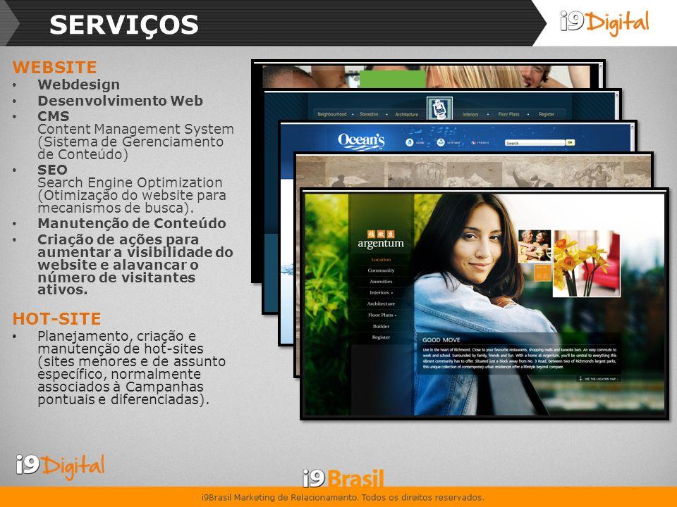 SERVIÇOS E-MAIL MARKETING Gestão, Criação e Manutenção de Campanhas de E-Mail Marketing.
