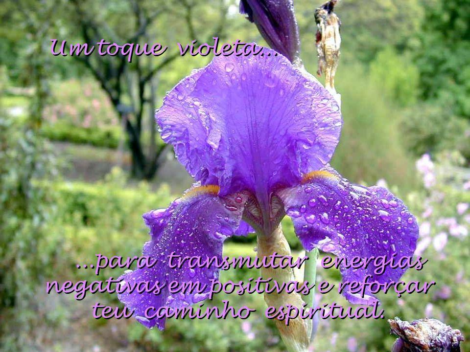Um toque violeta...