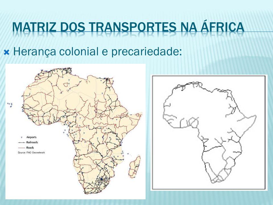 Herança colonial e precariedade: