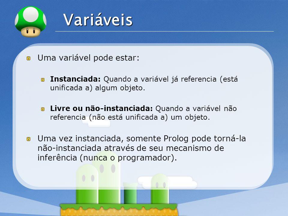 LOGO Listas Para entender a representação de listas do Prolog, é necessário considerar dois casos: Lista vazia [].
