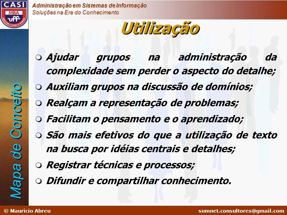 sumnet@microlink.com.br © Mauricio Abreusumnet.consultores@gmail.com Administração em Sistemas de Informação Soluções na Era do Conhecimento m Ajudar