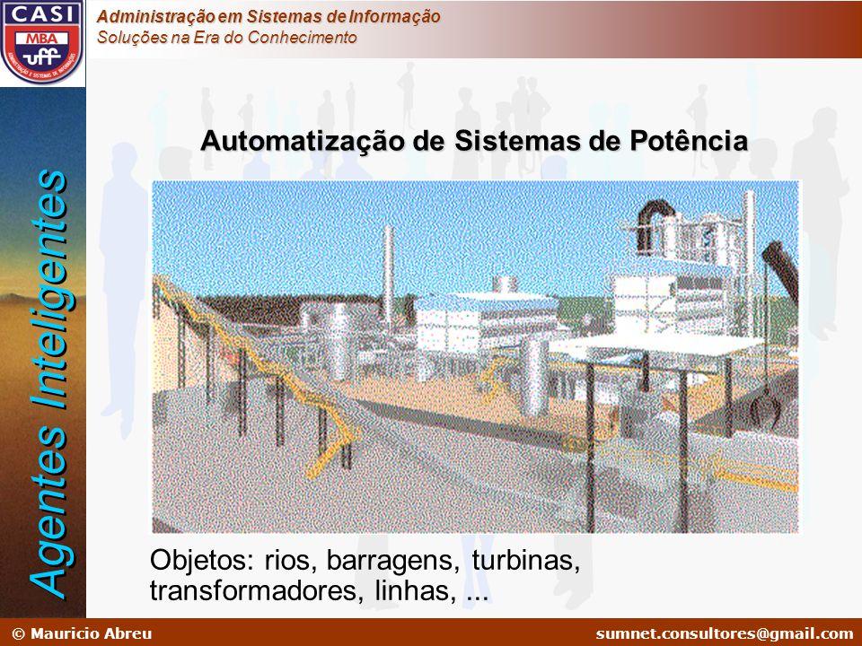 sumnet@microlink.com.br © Mauricio Abreusumnet.consultores@gmail.com Administração em Sistemas de Informação Soluções na Era do Conhecimento Automatiz