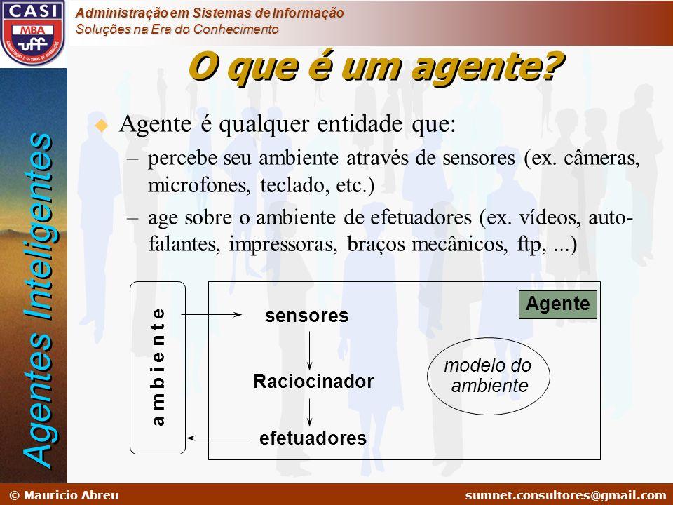 sumnet@microlink.com.br © Mauricio Abreusumnet.consultores@gmail.com Administração em Sistemas de Informação Soluções na Era do Conhecimento sensores