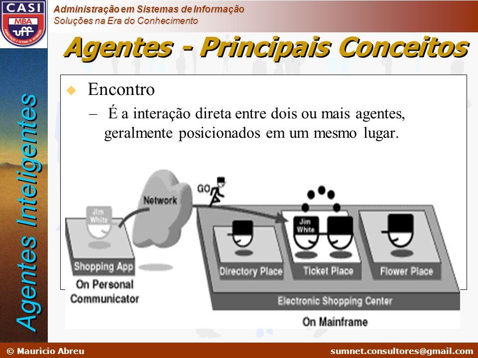 sumnet@microlink.com.br © Mauricio Abreusumnet.consultores@gmail.com Administração em Sistemas de Informação Soluções na Era do Conhecimento u Encontr