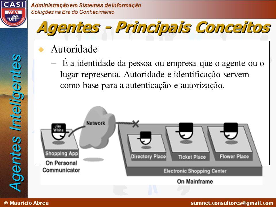 sumnet@microlink.com.br © Mauricio Abreusumnet.consultores@gmail.com Administração em Sistemas de Informação Soluções na Era do Conhecimento u Autorid