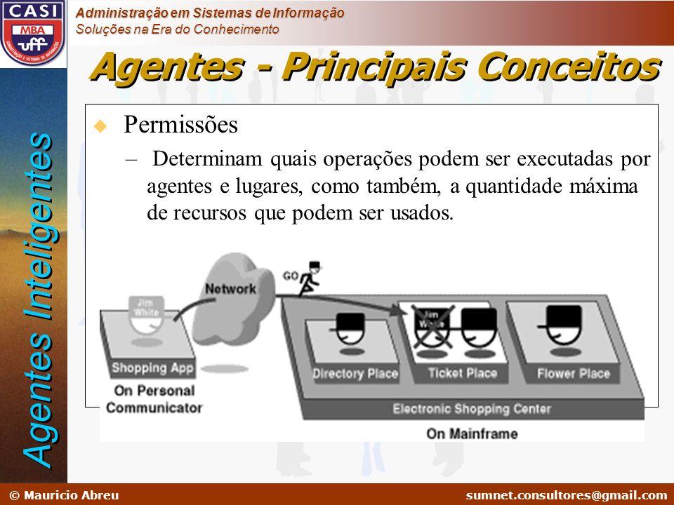 sumnet@microlink.com.br © Mauricio Abreusumnet.consultores@gmail.com Administração em Sistemas de Informação Soluções na Era do Conhecimento u Permiss