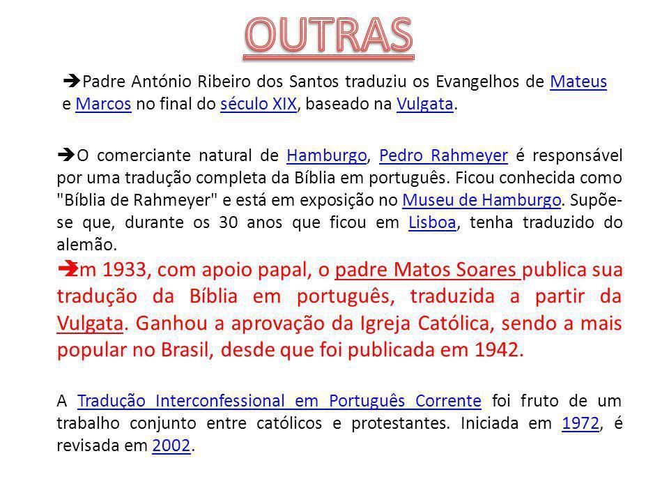 O comerciante natural de Hamburgo, Pedro Rahmeyer é responsável por uma tradução completa da Bíblia em português.
